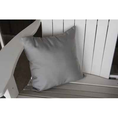 Escamilla Acrylic Throw Pillow Color: Gray, Size: 15 H x 15 W