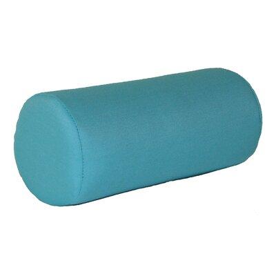 Escamilla Acrylic Bolster Pillow Color: Aqua, Size: 7 H x 18 W