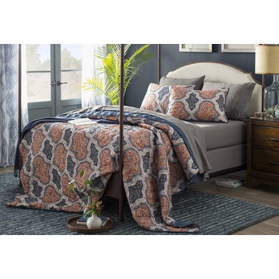 Rockledge Upholstered Canopy Bed Size: Queen
