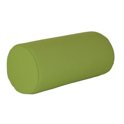 Escamilla Acrylic Bolster Pillow Color: Lime Green, Size: 7 H x 18 W