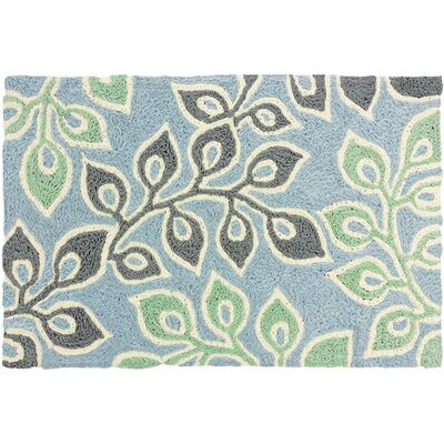 Beaumaris Hand-Tufted Green/Gray/Blue Indoor/Outdoor Area Rug