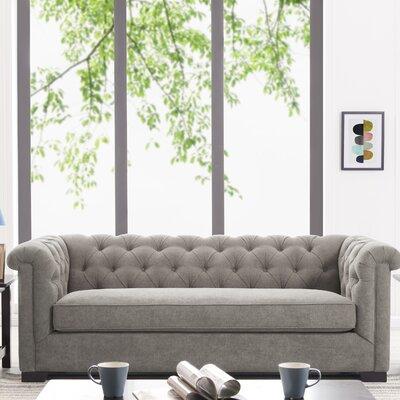 Hoopes Sofa Upholstery: Smoke Gray