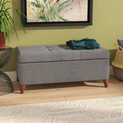 Filton Storage Ottoman Color: Gray