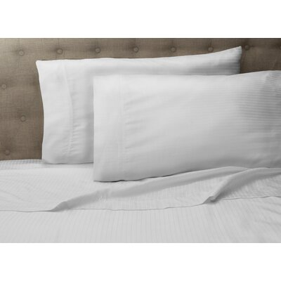 Haire 500 Thread Count Sheet Set Size: Queen, Color: White