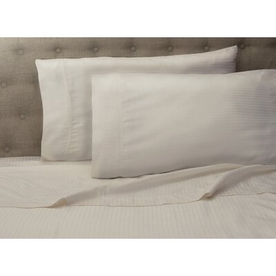 Haire 500 Thread Count Sheet Set Size: King, Color: Ivory