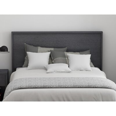 Cowell Panel Headboard Color: Espresso, Size: Queen