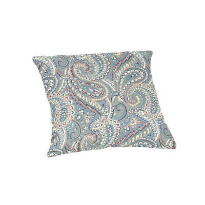 Hoffman Outdoor Throw Pillow Size: 18 x 18