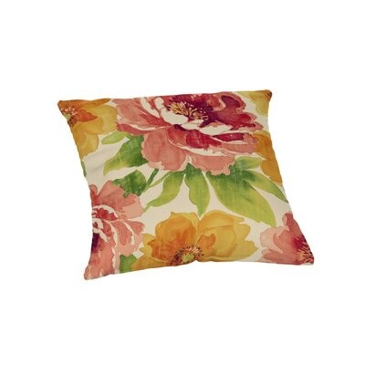 Hoffman Outdoor Throw Pillow Size: 20 x 20