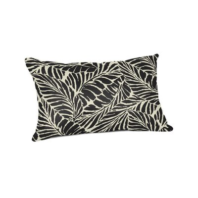 Edgemoor Outdoor Lumbar Pillow Color: Malkus Ebony