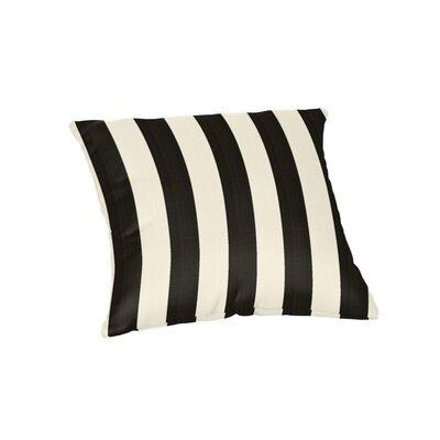 Ehrhart Sunbrella Outdoor Throw Pillow Color: Maxim Classic, Size: 18 x 18