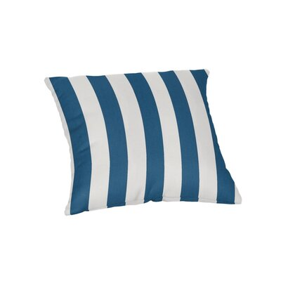 Ehrhart Sunbrella Outdoor Throw Pillow Color: Maxim Regatta, Size: 18 x 18