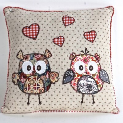 Gingras Owls Throw Pillow