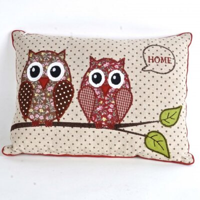 Ginn Owls Throw Pillow