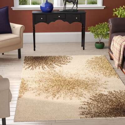 Germain Beige Area Rug Rug Size: Rectangle 5 x 8