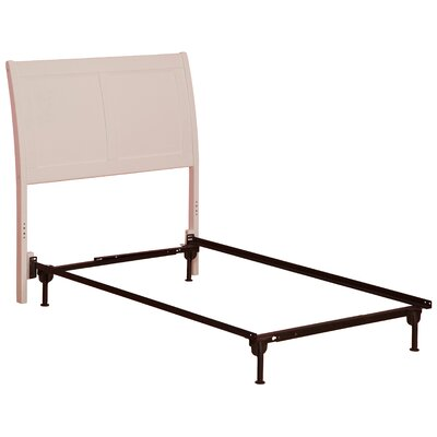 Wrington Sleigh Headboard Size: Twin, Color: White