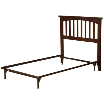 Richland Slat Headboard Size: Twin, Color: Antique Walnut