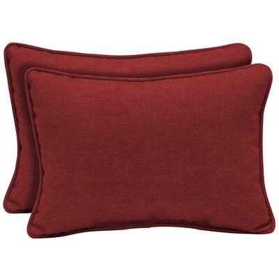 Kitterman Tropical Reversible Outdoor Lumbar Pillow