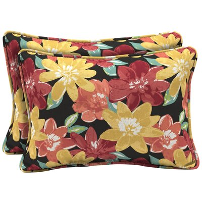 Espana Floral Outdoor Lumbar Pillow