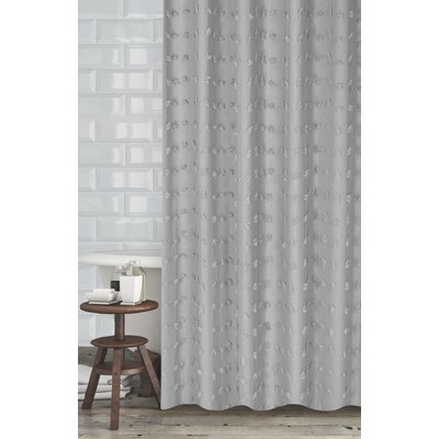 Mikkelsen Shower Curtain Color: Gray