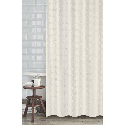 Mikkelsen Shower Curtain Color: Beige