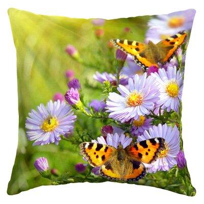 Escudero Butterfly Outdoor Throw Pillow