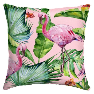 Kittel Fenicottero Flamingo Outdoor Throw Pillow