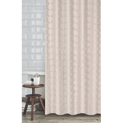 Mikkelsen Shower Curtain Color: Oatmeal