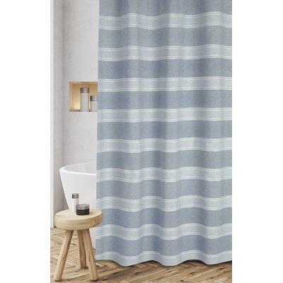 Jarmon Shower Curtain Color: Aqua Blue