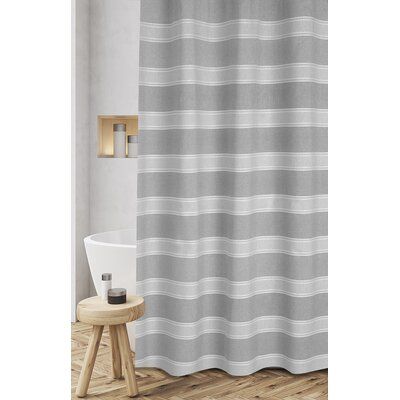 Jarmon Shower Curtain Color: Gray