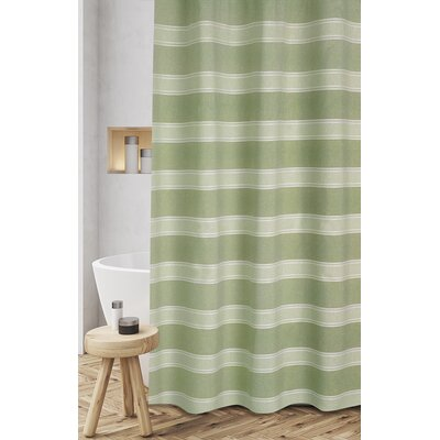 Jarmon Shower Curtain Color: Sage