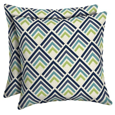 Sampson Diamond Outdoor Throw Pillow