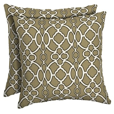 Dorning Trellis Outdoor Throw Pillow