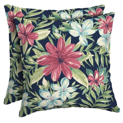 Kittle Tropical Outdoor Throw Pillow
