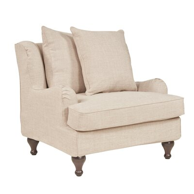 Tomlinson Armchair Upholstery: Flax