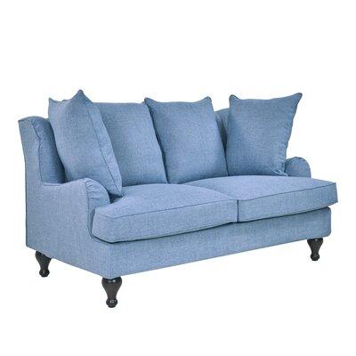 Tomlinson Loveseat Upholstery: Mist
