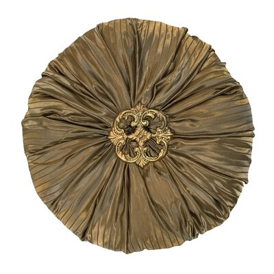 Naradale Throw Pillow Color: Bronze