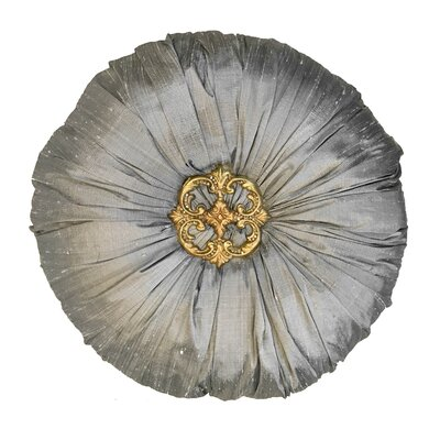 Naradale Throw Pillow Color: Silver