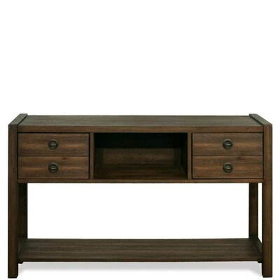 Perspectives Hall 52 TV Stand Color: Brushed Acacia
