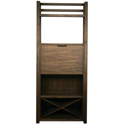 Wootton Bar Cabinet Color: Brushed Acacia