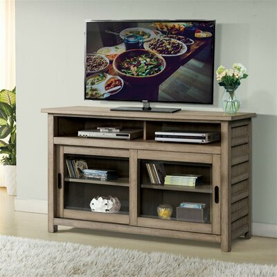 Wootton TV Stand Color: Sun-Drenched Acacia, Width of TV Stand: 54