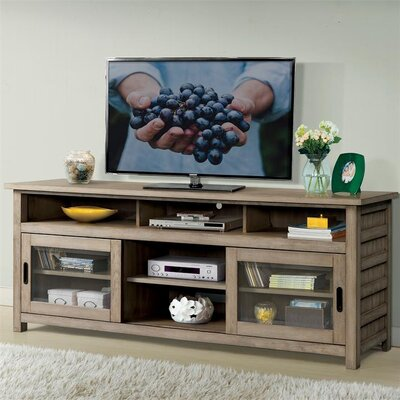 Wootton 74 TV Stand Color: Sun-Drenched Acacia