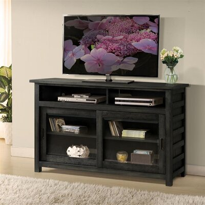 Wootton TV Stand Color: Ebonized Acacia, Width of TV Stand: 64