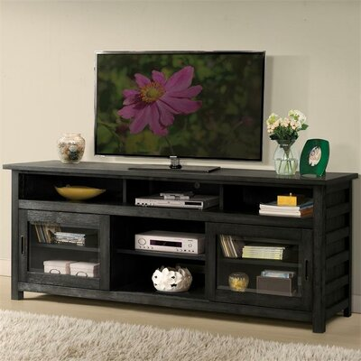 Wootton 74 TV Stand Color: Ebonized Acacia