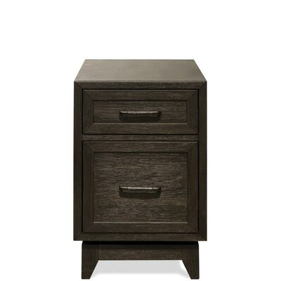 Workman End Table with Storage Color: Umber