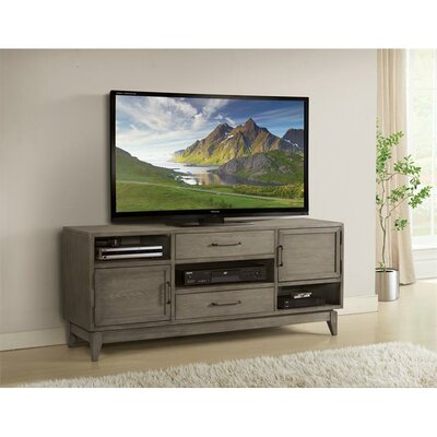 Workman 66 TV Stand Color: Gray Wash