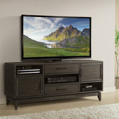 Workman 66 TV Stand Color: Umber
