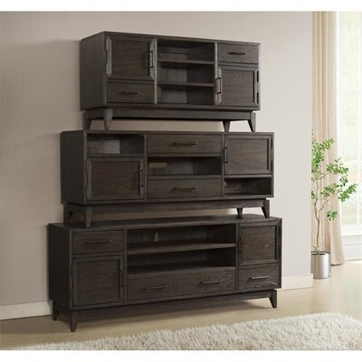 Workman 74 TV Stand Color: Umber