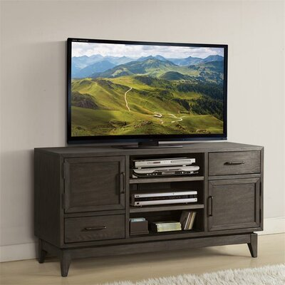Workman 54 TV Stand Color: Umber