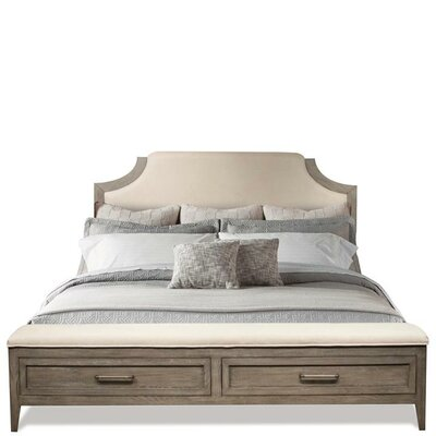 Workman Storage Upholstered Panel Bed