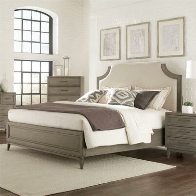 Workman Upholstered Panel Headboard Size: Queen